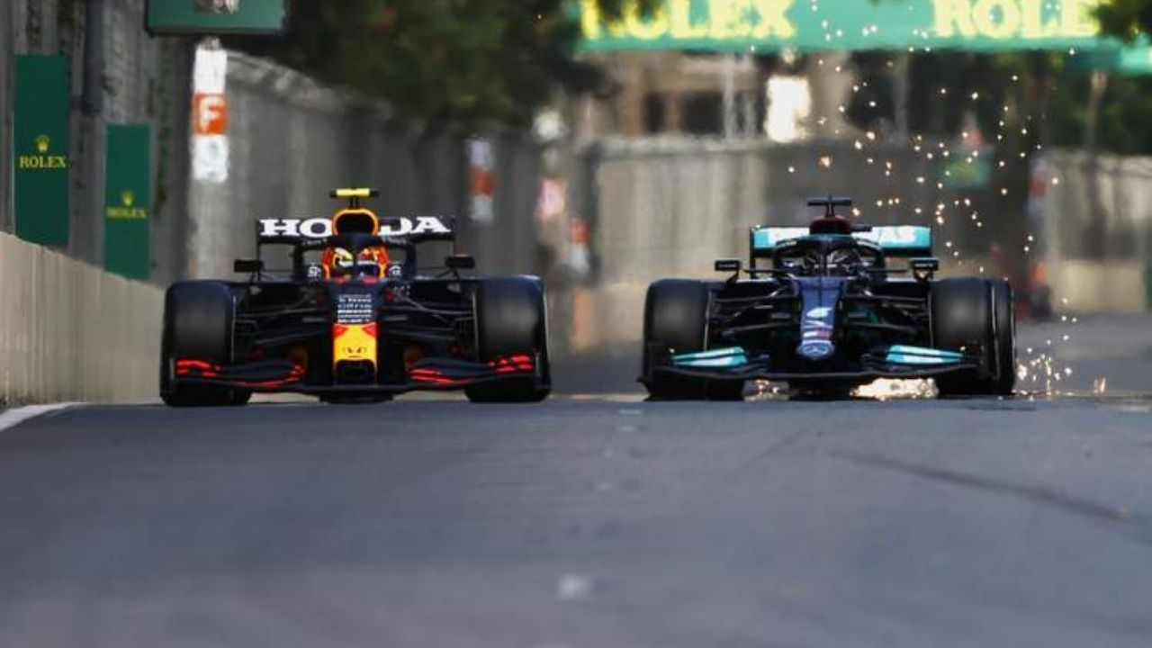 """""""Two of them together will make it difficult""""– Lewis Hamilton recognizes title threat with Sergio Perez"""