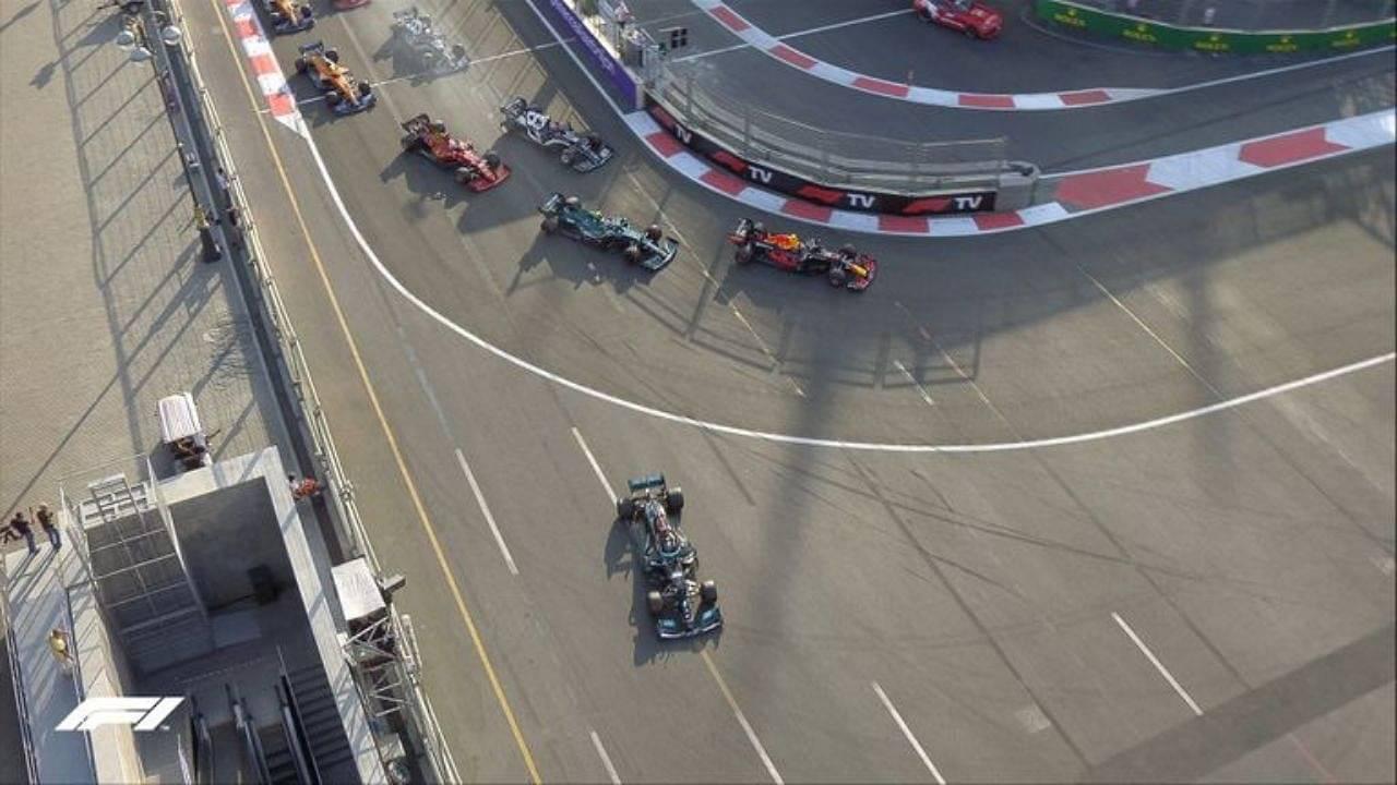 F1 Lewis Hamilton: How Lewis Hamilton lost control of his car & lost race in Azerbaijan