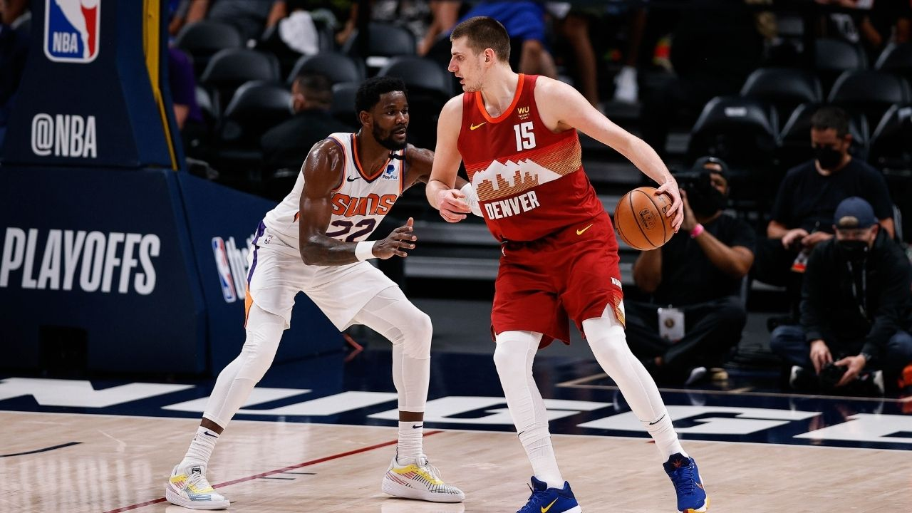 """""""DeAndre Ayton, you are a beast!"""": 2021 NBA MVP Nikola Jokic sends an autographed jersey to the Suns' big after the sweep"""