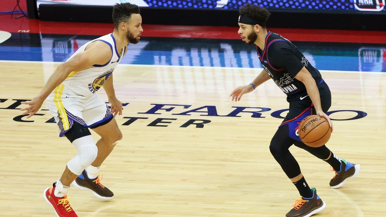 """""""I'm leaning towards a Sixers-Utah Finals"""": Warriors' Stephen Curry makes bold Finals predictions, dismisses Kevin Durant as a Finals candidate"""