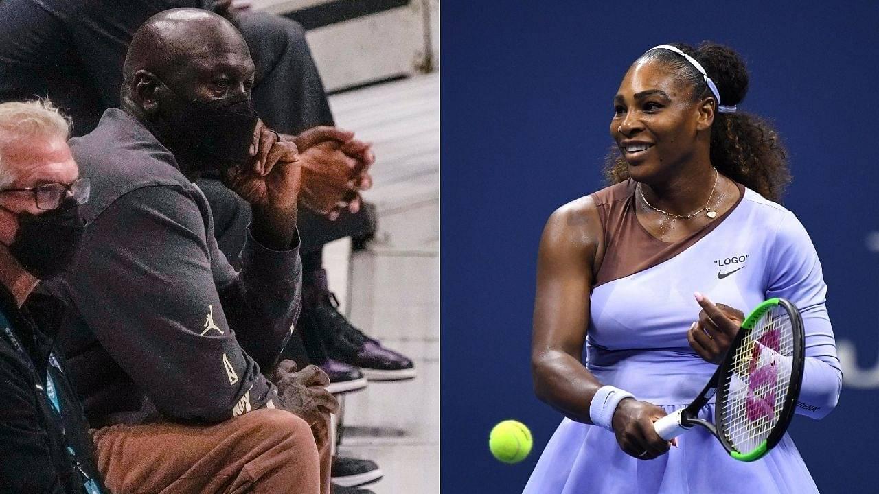 """Michael Jordan never played basketball for money"": Tennis legend Serena Williams compliments the GOAT in her inspiring speech"