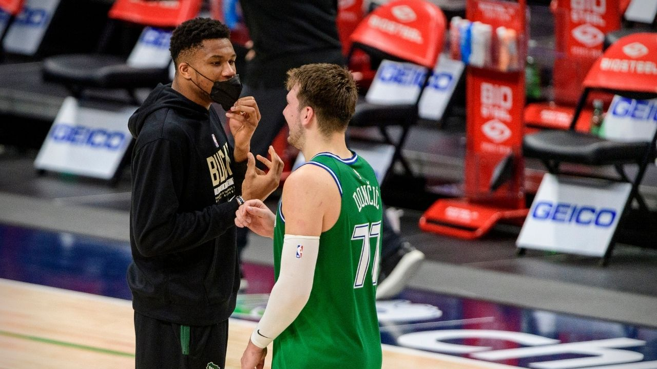 """""""Giannis scared NBA executives that he might team up with Luka Doncic"""": Zach Lowe reveals how the Bucks star scared teams in the 2020 offseason"""