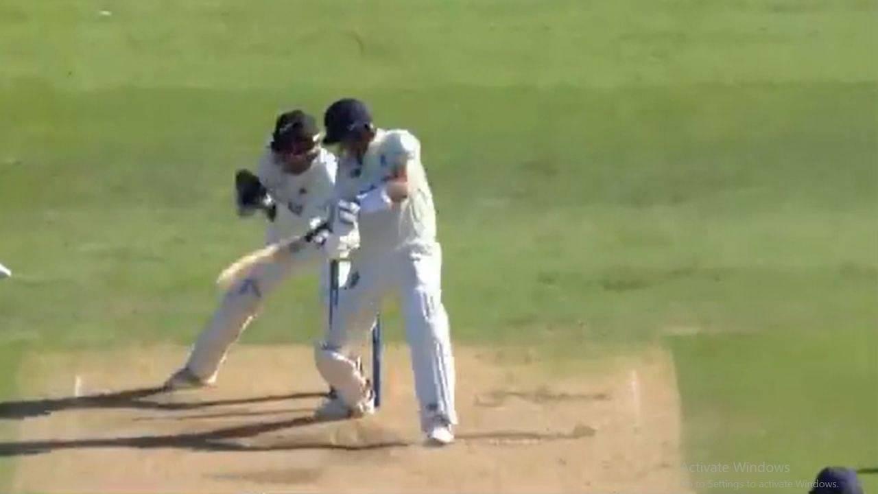 Joe Root dismissal: English captain gets caught behind off Ajaz Patel in shambolic batting collapse at Edgbaston