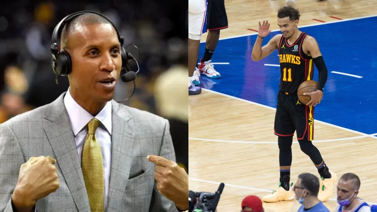 """""""People call Trae Young borderline cocky, I don't mind that"""": Reggie MIller loves Hawks star's confidence, says he reminds the Pacers legend of himself"""