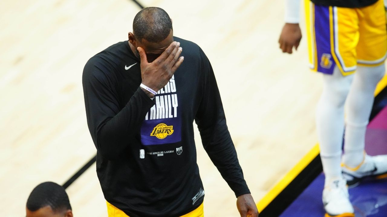 """""""Kendrick Perkins, thank you for jinxing the Lakers"""": Max Kellerman takes dig at First Take co-analyst as LeBron James and co are blown out by Suns in Game 5"""
