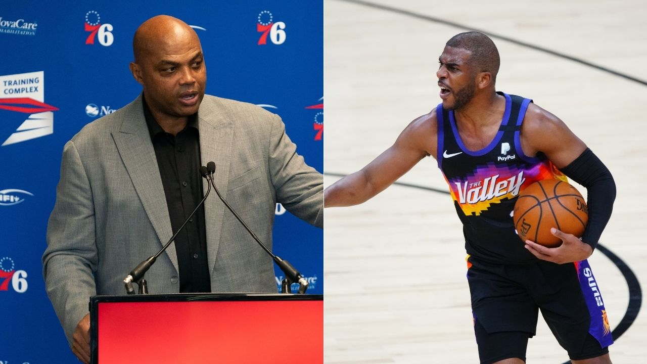 """""""Never been drunk enough to turn down $45 million"""": Charles Barkley pithily explains why Chris Paul would be foolish not to pick up his player option next season"""