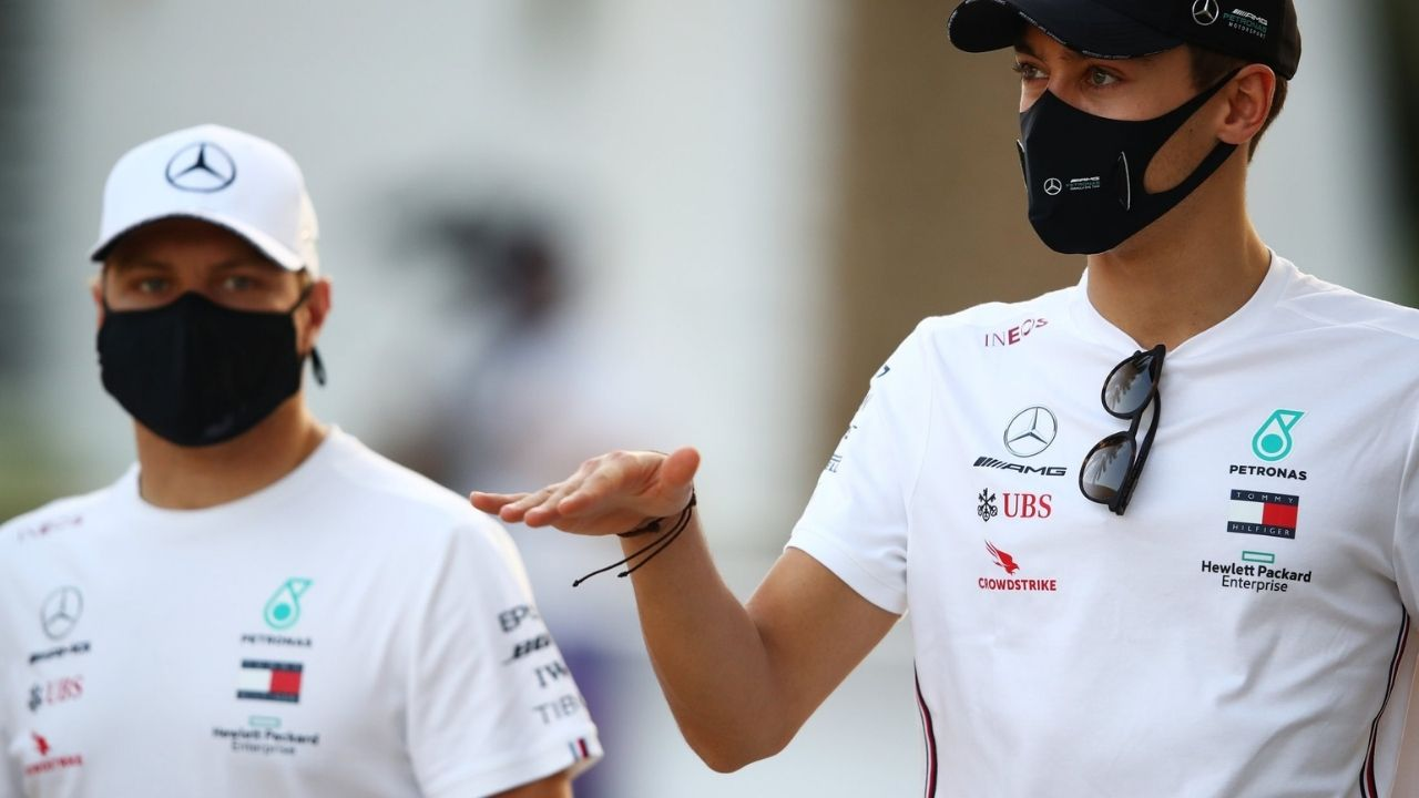 """""""It's exciting not knowing what the future holds"""" - George Russell on Mercedes speculation"""