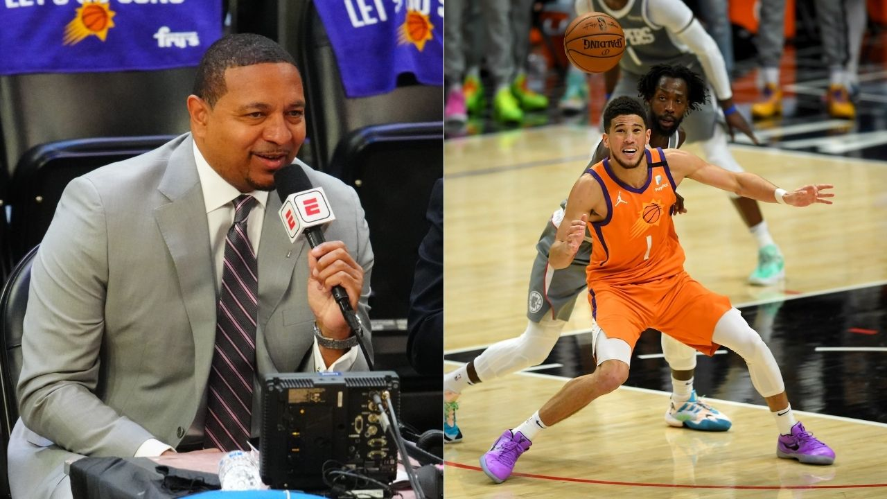 """""""Making sure Devin Booker doesn't foul out"""": ESPN commentator Mark Jackson makes a hilarious gaffe on air during the WCF"""