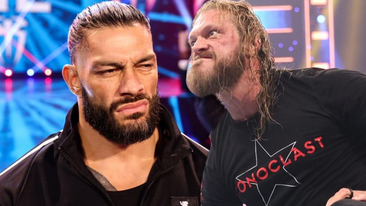 Roman Reigns takes a shot at Edge ahead of their clash at Money in the Bank