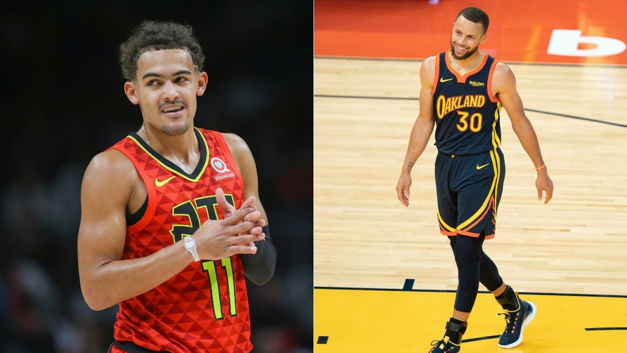 """""""Trae Young is a bad man"""": Hawks star's shimmy before drilling a 3 in game 1 of the ECF puts him on Stephen Curry's pedestal"""
