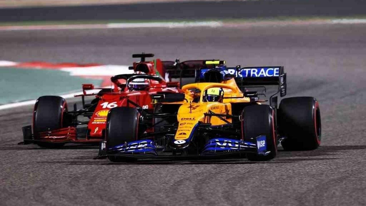 """""""We are quite a long way off of Ferrari""""– Lando Norris"""