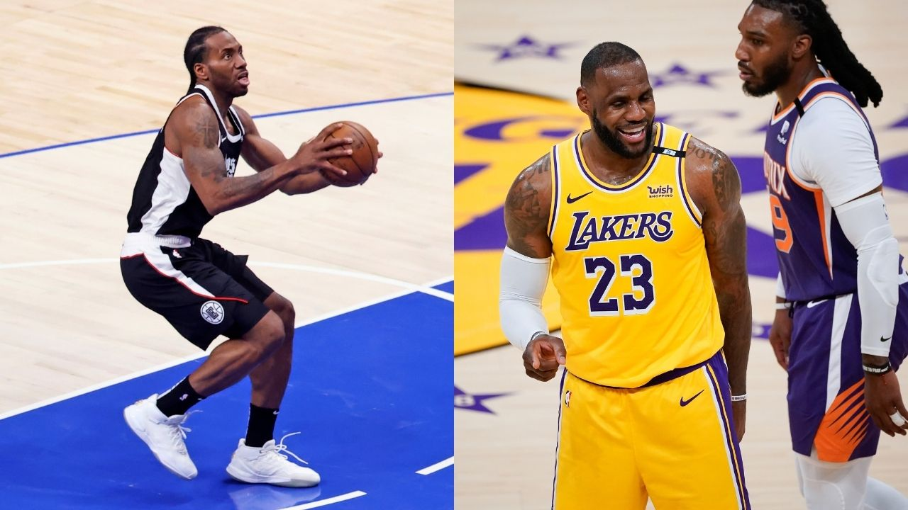 """""""Kawhi Leonard's legacy is on the line but not LeBron James?"""": NBA fans react to Shannon Sharpe showing favoritism towards the Lakers MVP over the Clippers superstar"""