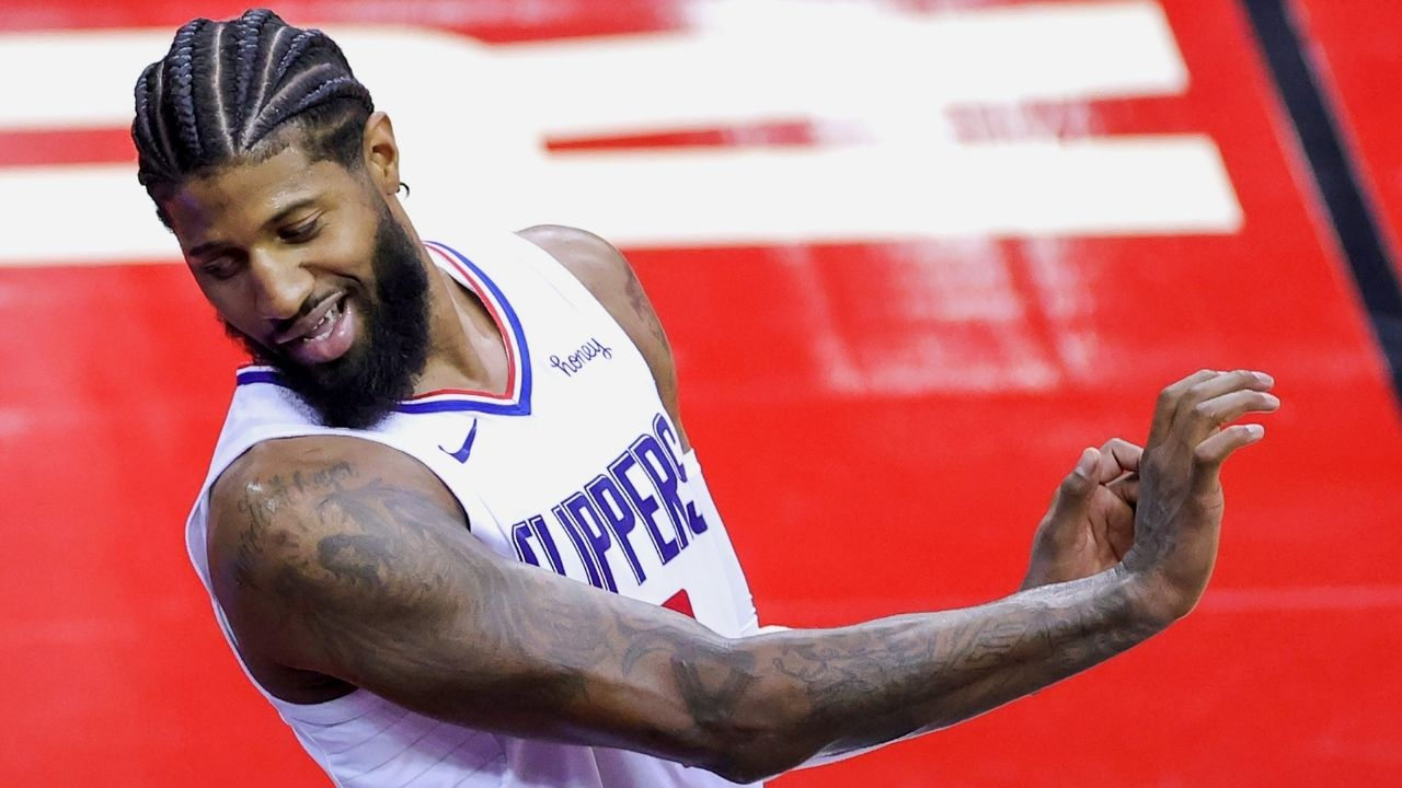 """""""Sure! This is what 'Playoff P' looks like"""": Los Angeles Clippers star Paul George had yet another great performance in a big Game 5 win against Donovan Mitchell's Jazz"""