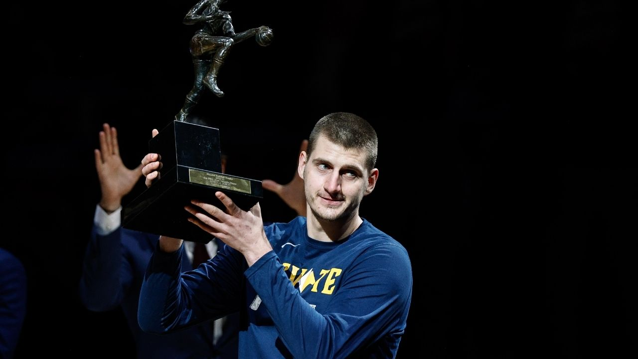 """""""Nikola Jokic looked happier when he received his horse racing trophy"""": NBA Fans mock Denver's superstar for his expressions after 2021 NBA MVP"""