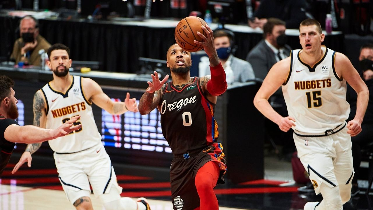 """Damian Lillard to the Utah Jazz?"": Blazers star roasts terrible Photoshop job triggering constant trade rumors with a dash of humor"