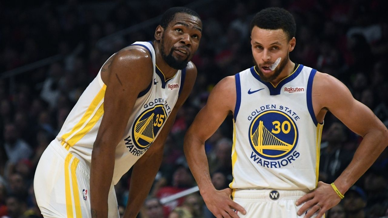 """""""Kevin Durant, run his little a** to the bleachers"""": KD's coach asked him to beat Stephen Curry with physicality as NBA legends played each other as children"""