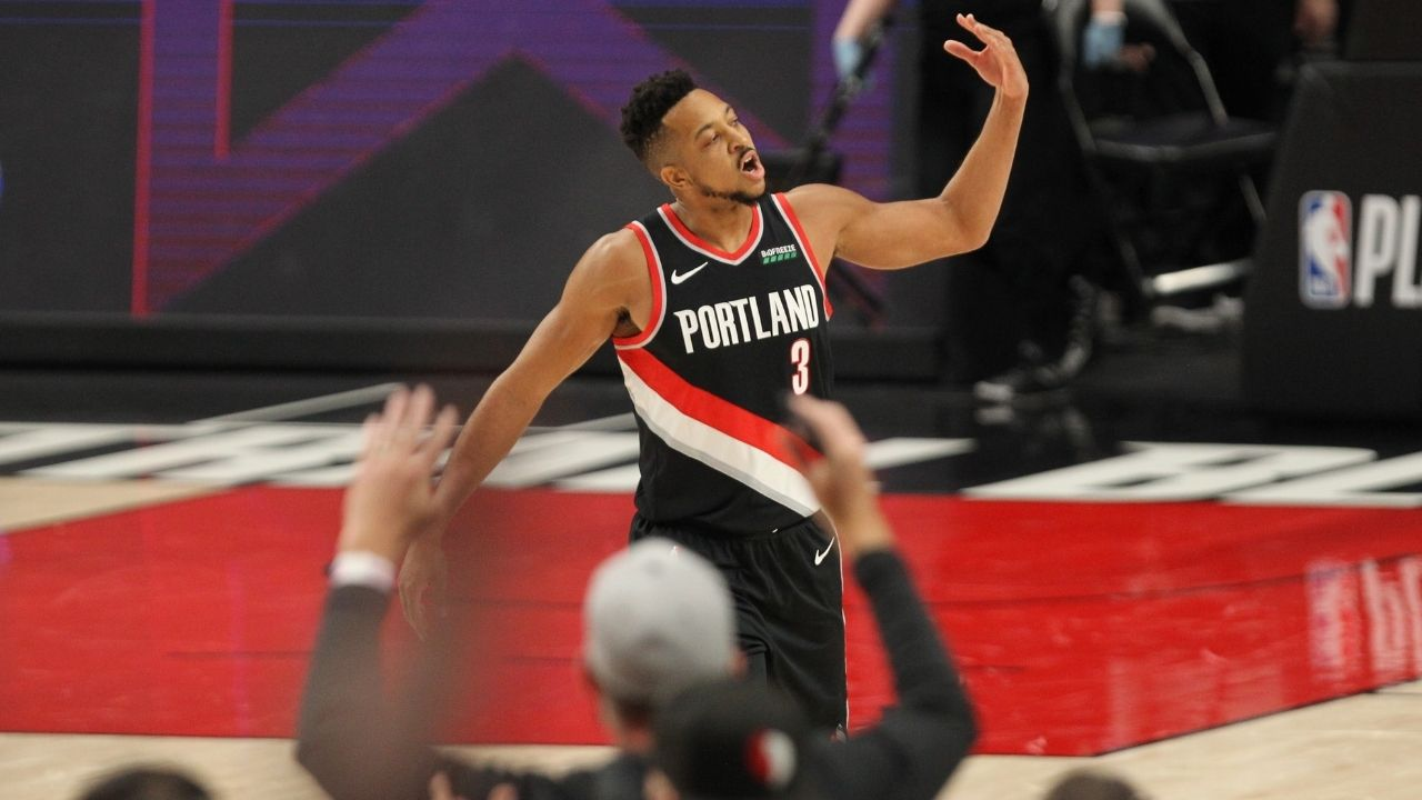 """""""CJ McCollum is being recruited by LeBron James"""": NBA insider speculates how high Lakers GM Rob Pelinka is on the Blazers star"""