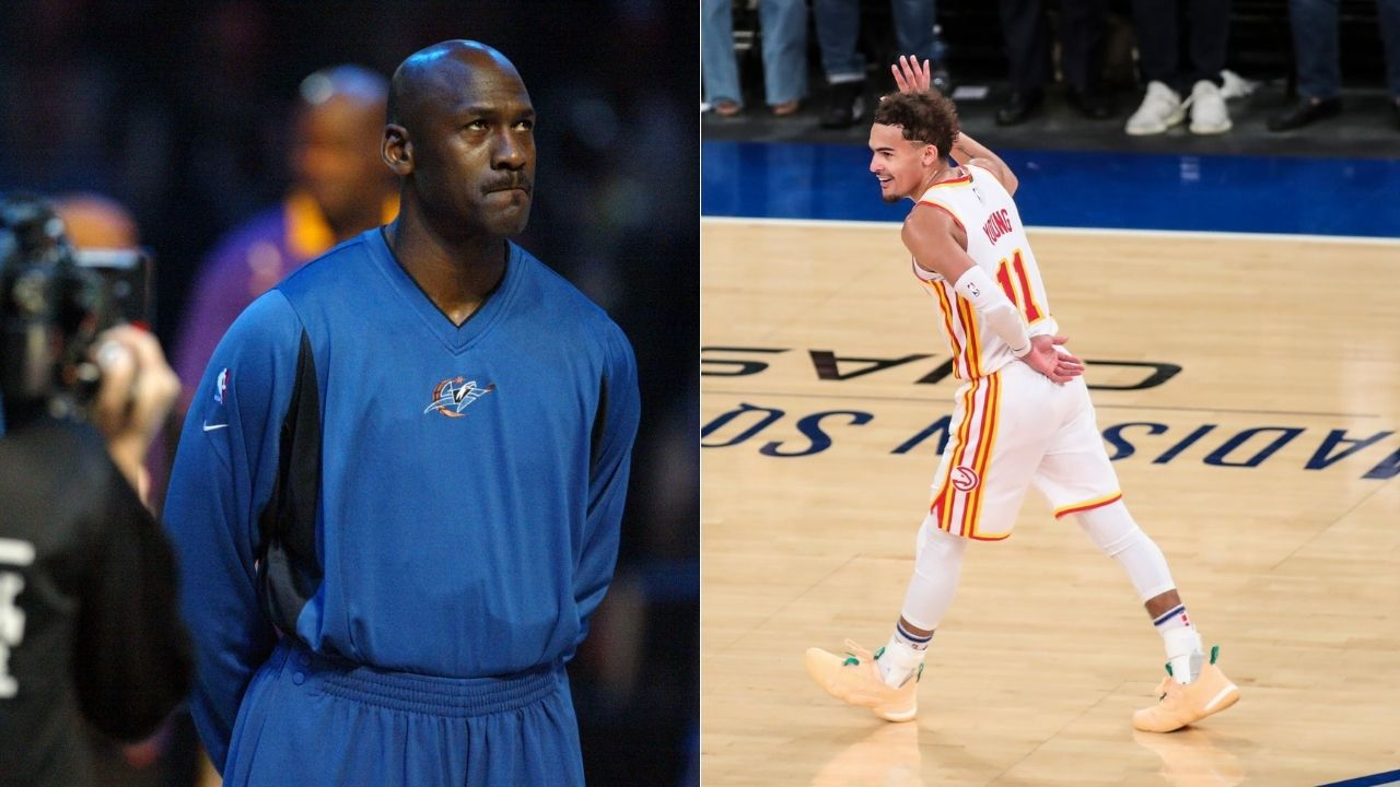"""""""Michael Jordan and Trae Young are both certified Knicks killers"""": Hawks star joins Bulls legend and the GOAT as the only players to score 30 points against NY Knicks at Madison Square Garden"""