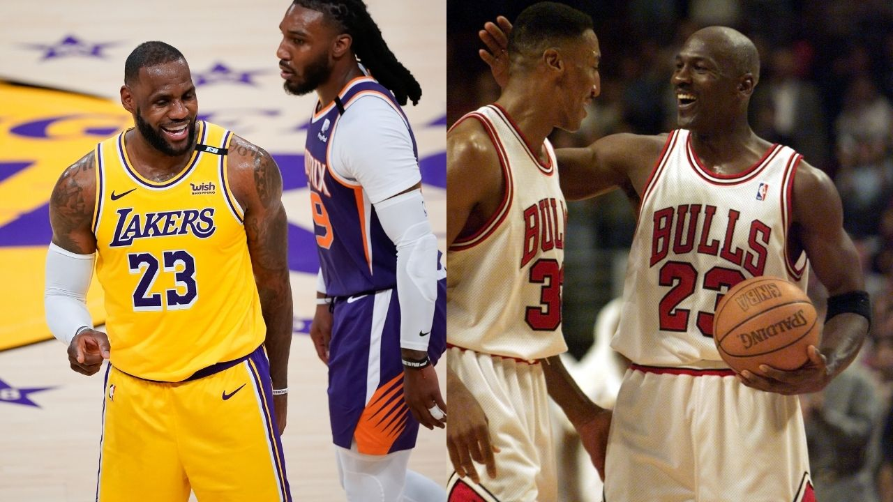 """""""16-year old LeBron James was invited to secret scrimmages with Michael Jordan"""": Antoine Walker reveals details about an epic MJ-LBJ matchup"""