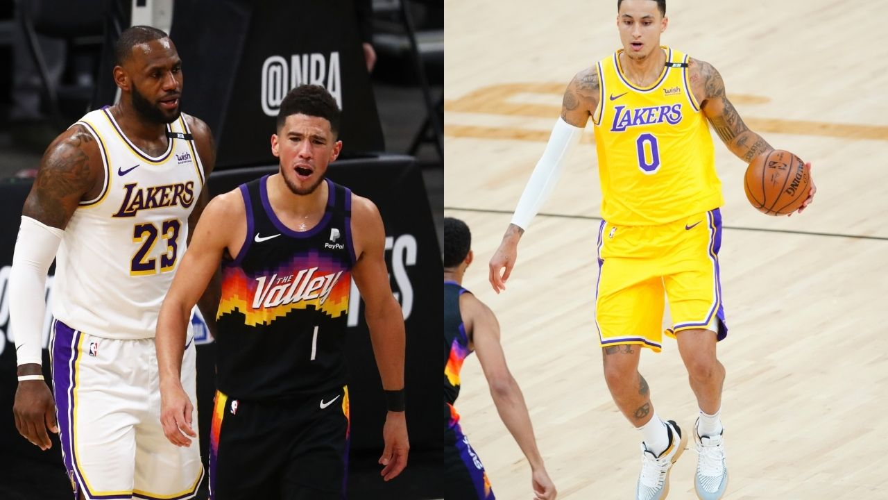 """""""Stephen A Smith is on a lot of s**t"""": NBA fans ridicule the ESPN analyst for suggesting the Suns trade Devin Booker for Lakers' Kyle Kuzma"""
