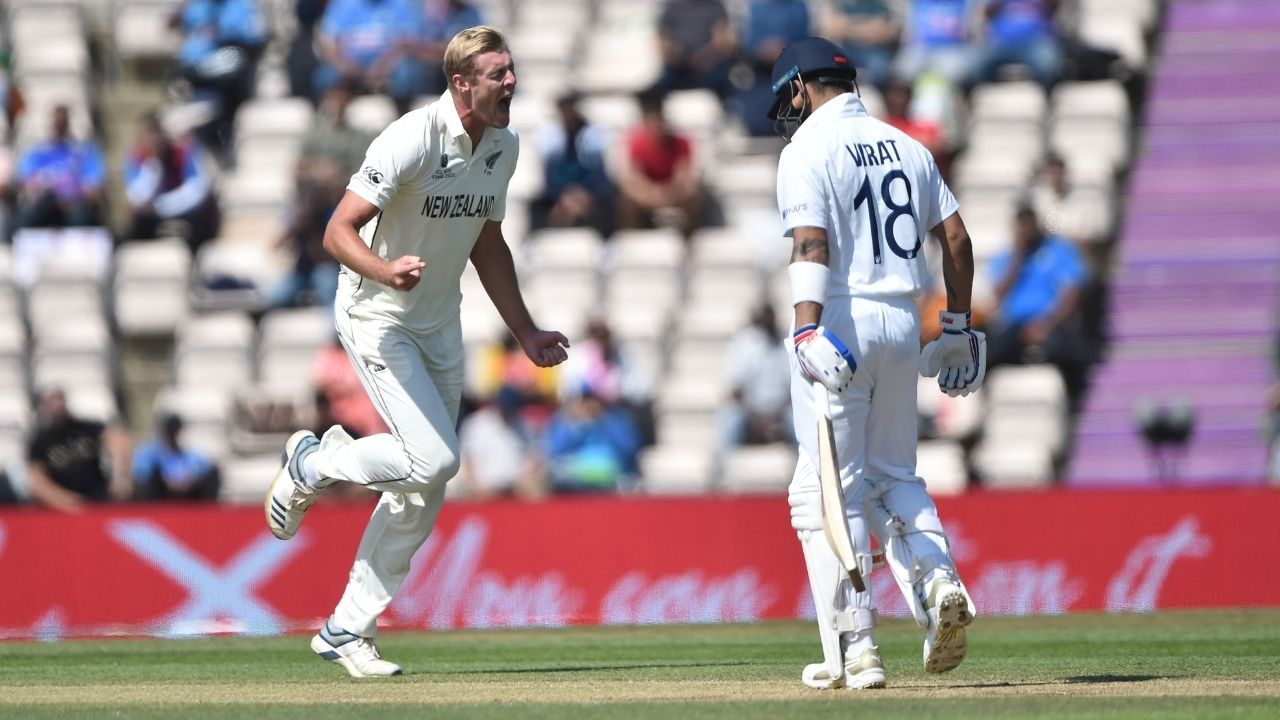 How many overs after tea in Test match: How many overs left in IND vs NZ WTC Final 2021?