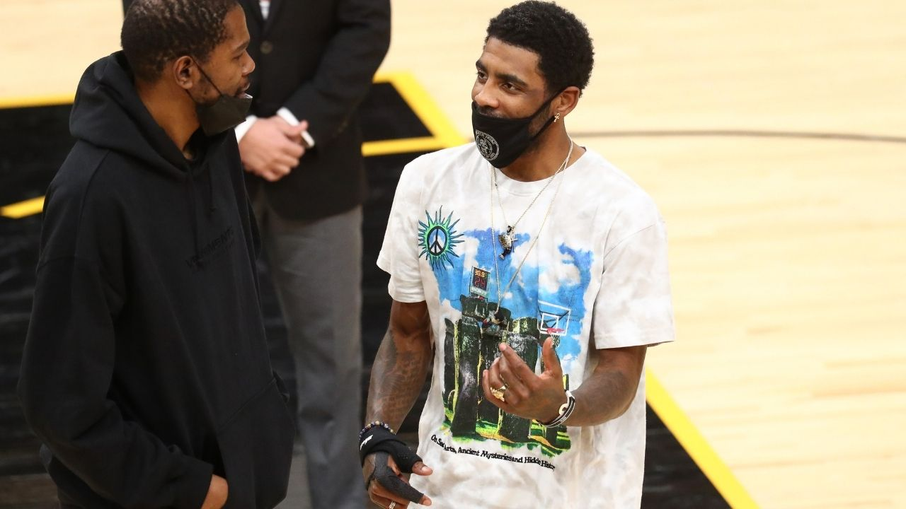 """""""What more could Kevin Durant have possibly done?!"""": Stephen A Smith throws shade at Kyrie Irving for the Nets losing to Giannis and the Bucks"""