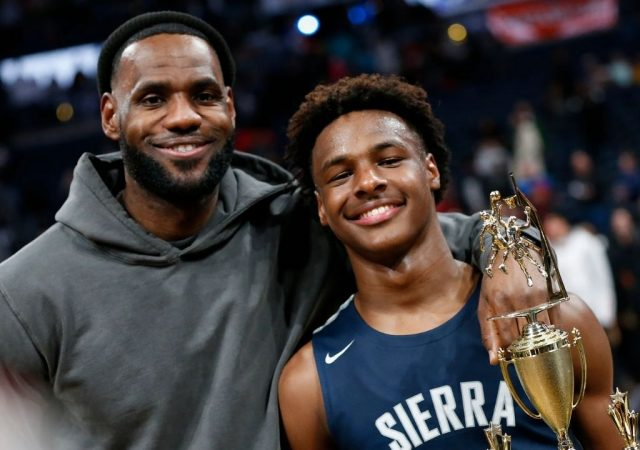 """""""Besides LeBron James, my top 5 has James Harden and Damian Lillard"""": When Bronny let out his lucrative 'top 5' that included the likes of Kevin Durant and more"""
