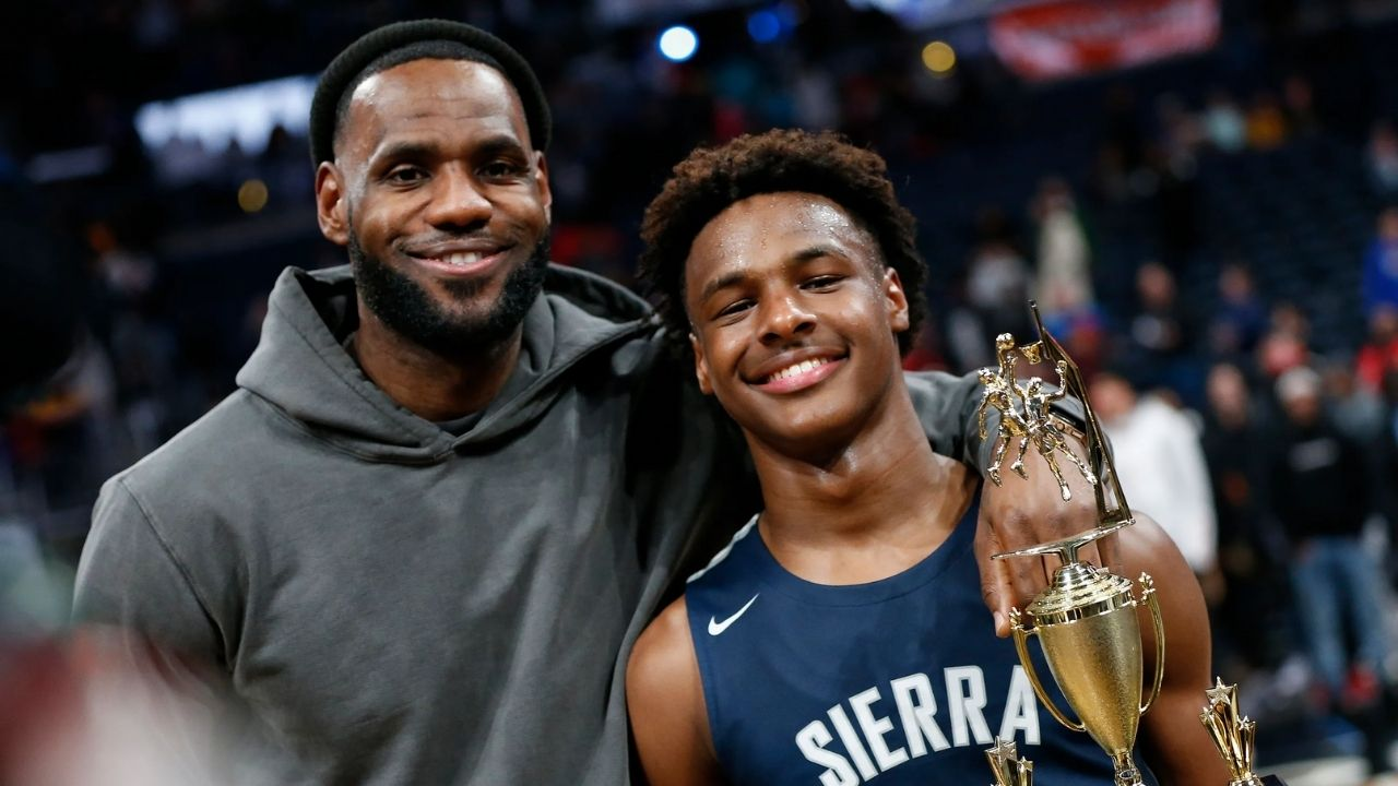 """""""Hope Bronny and my kids face some adversity in their life"""": LeBron James reveals an unorthodox desire he has when it comes to his children"""