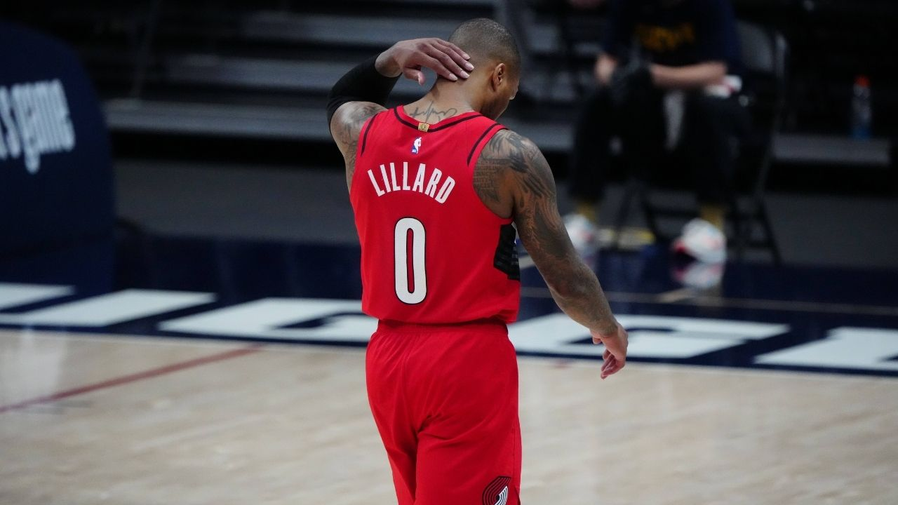 """""""Damian Lillard you are CRACKED!"""": NBA Twitter reacts to the Blazers' star's record setting game against the Denver Nuggets"""
