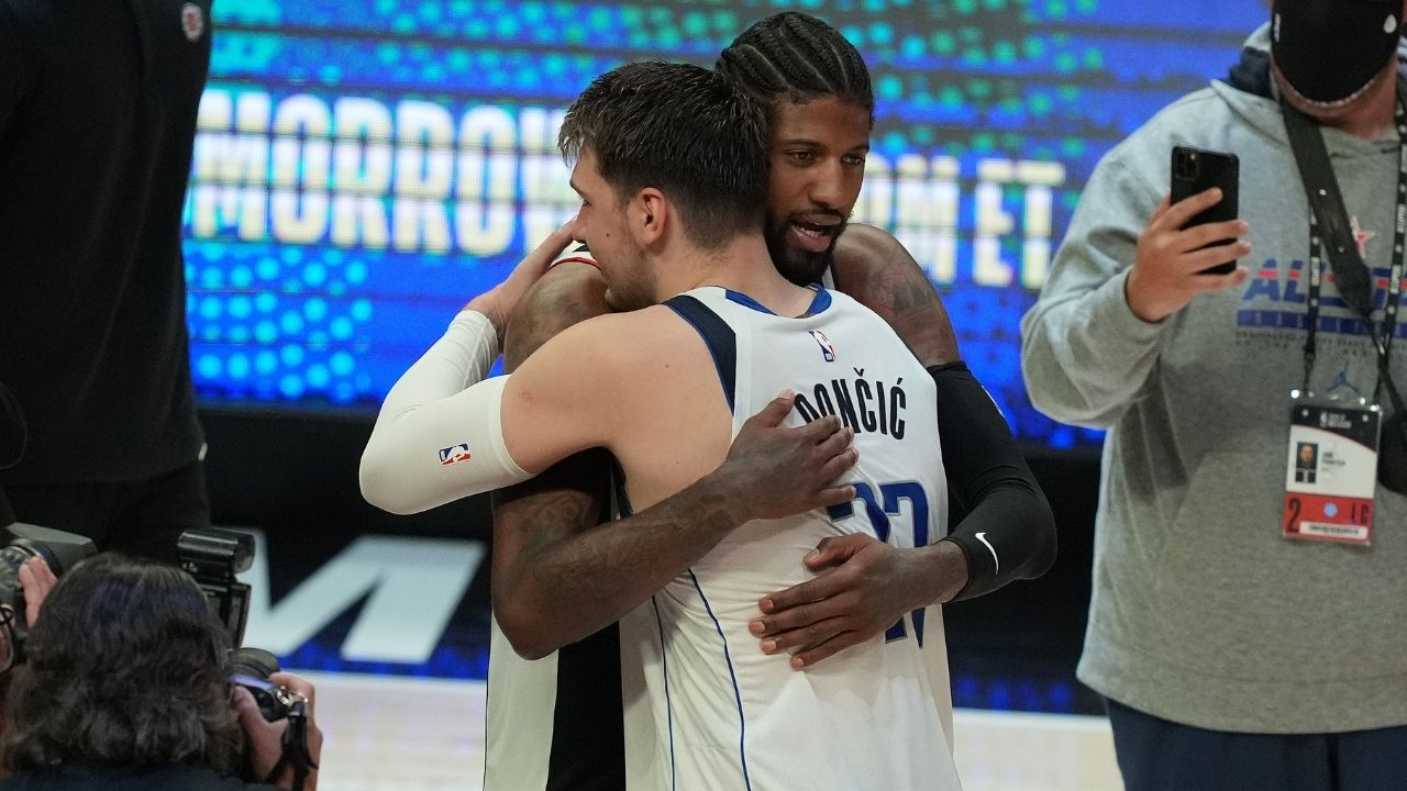 'Luka Doncic didn't want fans to body shame him': Mavs star appeared to reject Paul George's jersey swap after Game 7 loss vs Clippers