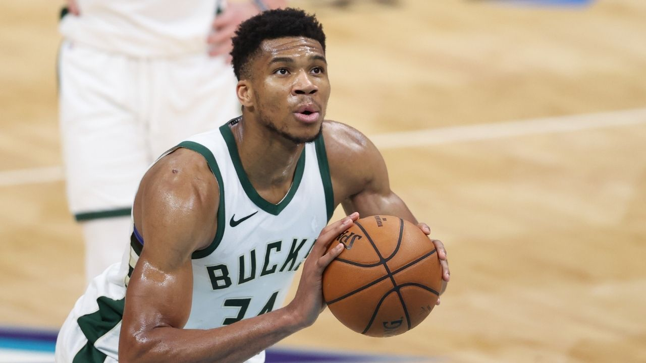 """""""Giannis has 2 10-second violations and 3 3-pointers made this playoffs"""": NBA fans react to 2-time MVP's continued free throw shot clock violations in Bucks vs Nets Game 3"""