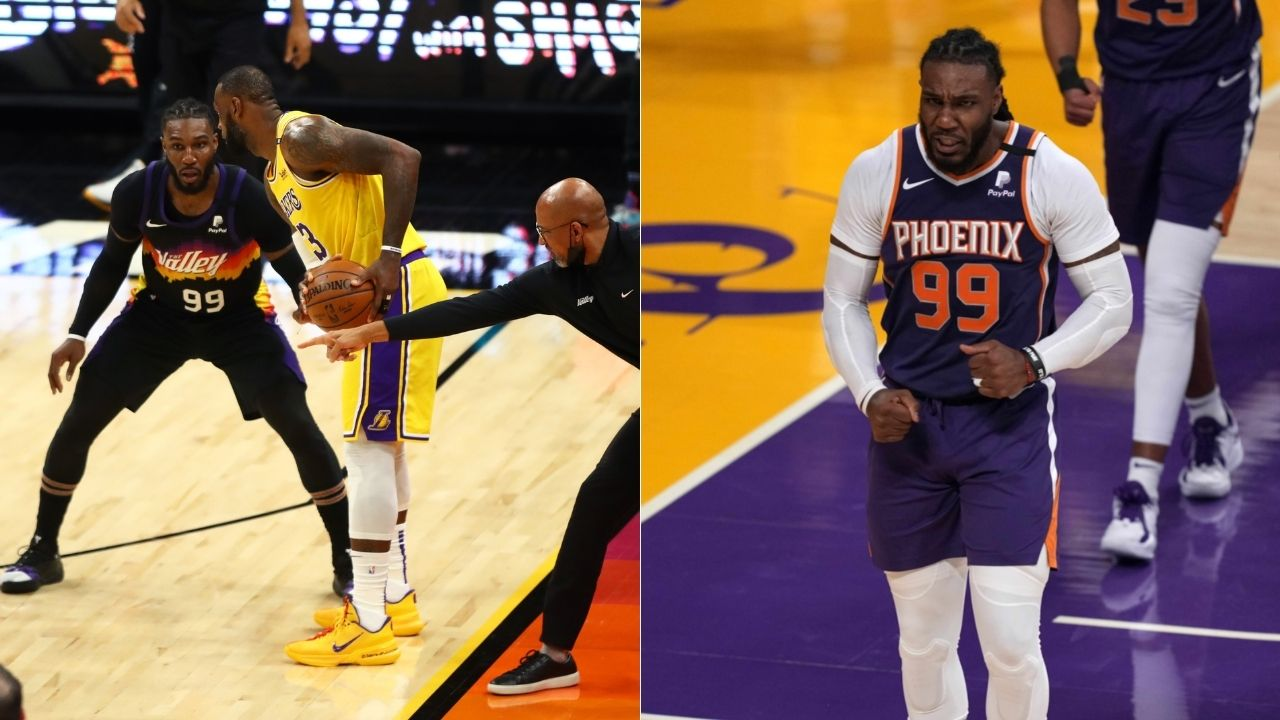 """""""LeBron James and co were clowning us in Game 3"""": Jae Crowder confirms that the Lakers' overconfidence earlier vs Suns motivated him to troll James with a salsa dance in Game 6"""