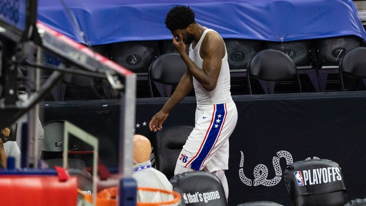 """""""I'll get even better next year"""": Sixers big man Joel Embiid warns the league about his return the next season following yet another early playoffs exit"""
