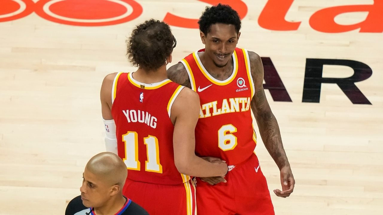 """""""Trae Young will be a Hall of Famer"""": Hawks sixth man Lou Williams pays ultimate compliment to his teammate after crazy comeback win in Game 5 vs Sixers"""