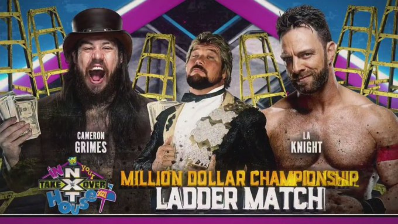 New Million Dollar Champion at NXT TakeOver In Your House