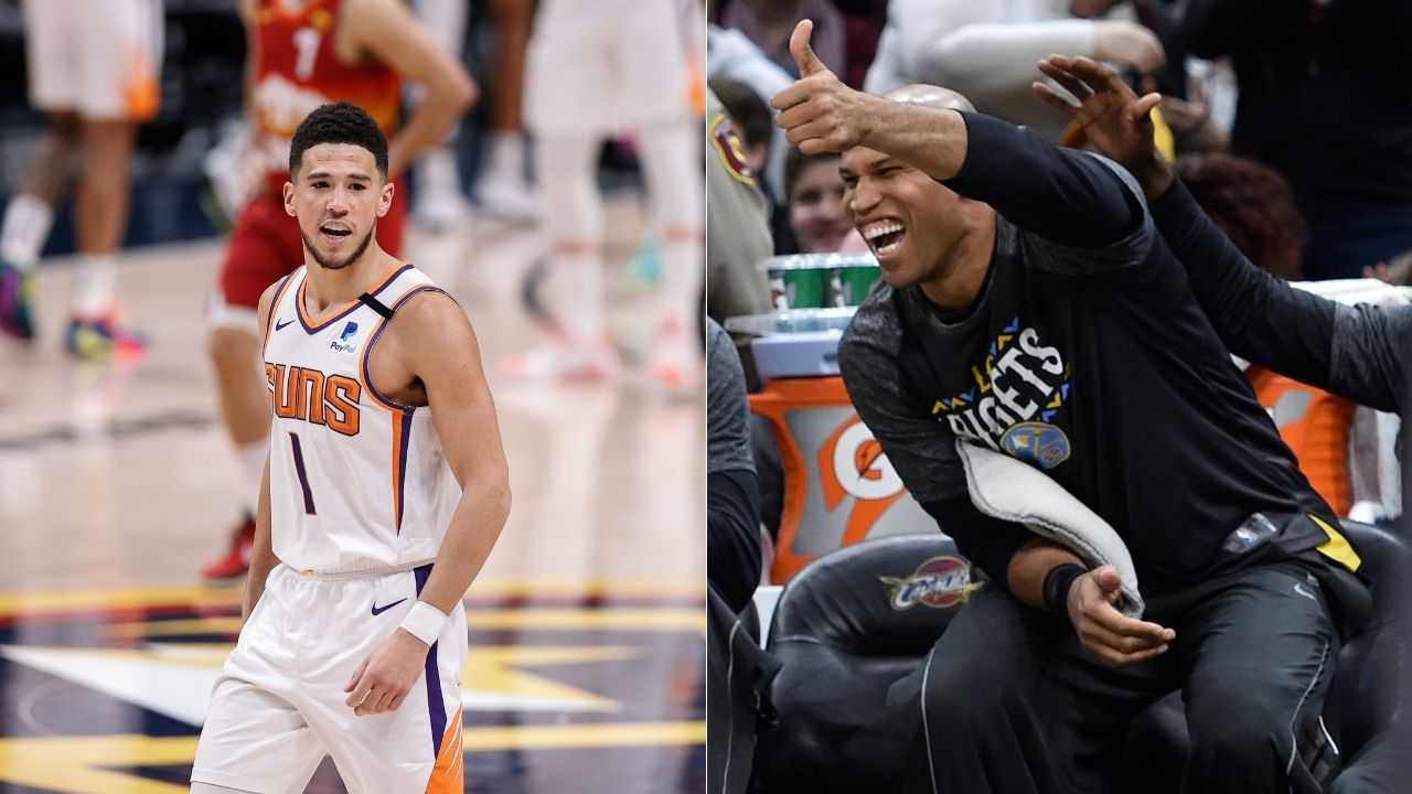 """""""Devin Booker, this might set a bad precedent"""": Richard Jefferson roasted on NBA Twiter by Suns star for being unusually snowflakey take regarding 'Suns in 4' fan"""