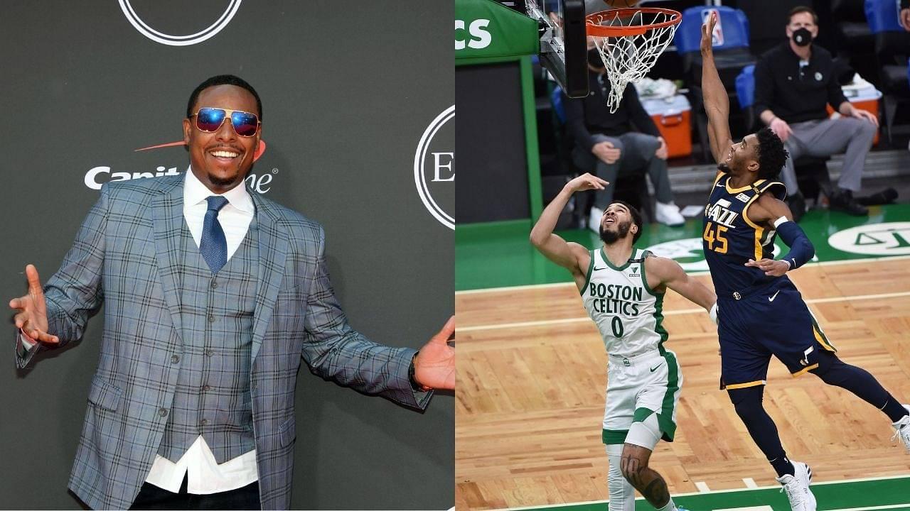 """When Jayson Tatum and Donovan Mitchell don't make it... Something has gotta change"": Paul Pierce blasts the NBA on All-NBA team selection criteria"