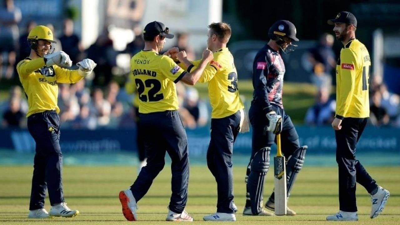 SUS vs HAM Head to Head Records in T20 Blast   Sussex vs Hampshire Stats   Vitality T20 Blast 2021