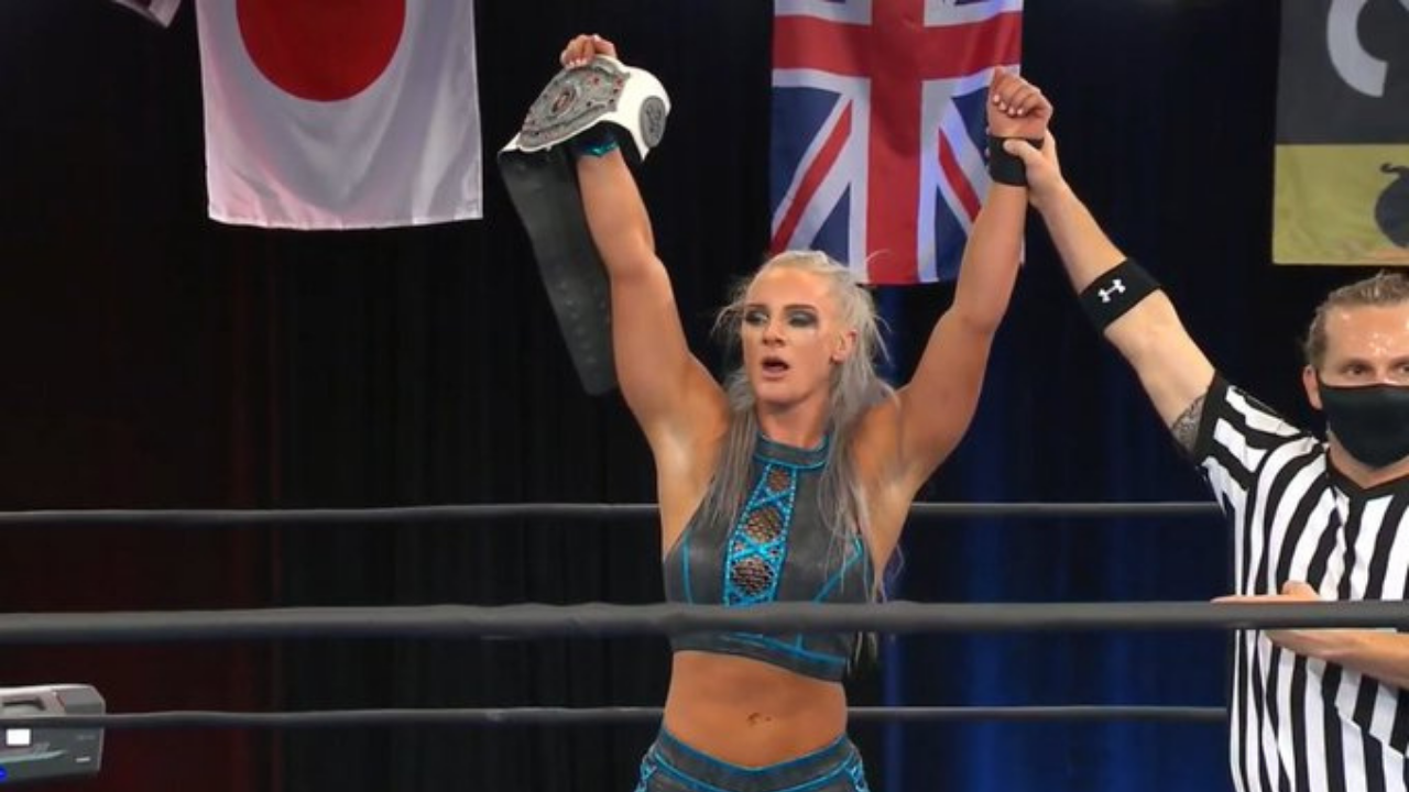 Serena Deeb loses NWA Women's Championship at When Our Shadows Fall