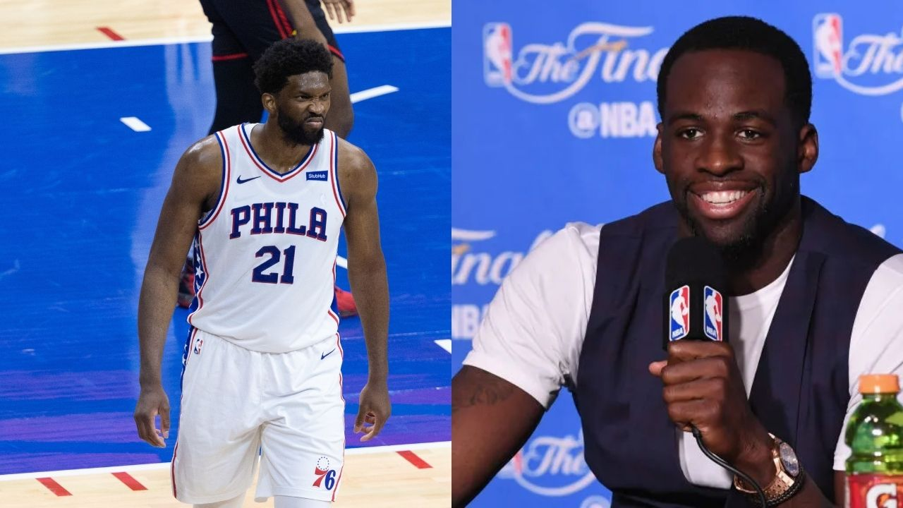 """""""Someone tell Joel Embiid not to shoot... Go Shaq mode"""": Draymond Green doles out advice for the Sixers' star during Game 7 against the Hawks"""