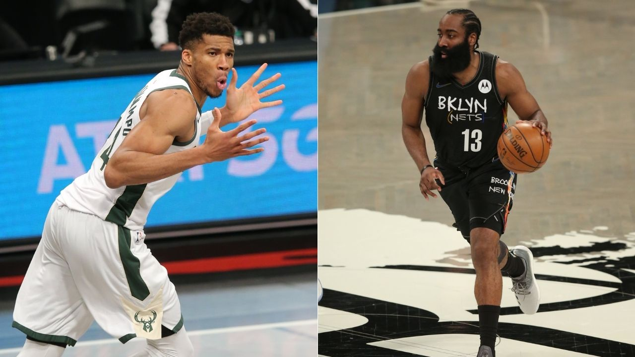 """""""James Harden cooked Giannis Antetokounmpo on one leg"""": Kendrick Perkins goes off on the Bucks DPOY's questionable defense"""