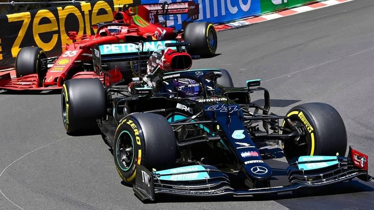"""They let us by""– Ferrari commanded Mercedes to let Carlos Sainz unlap"