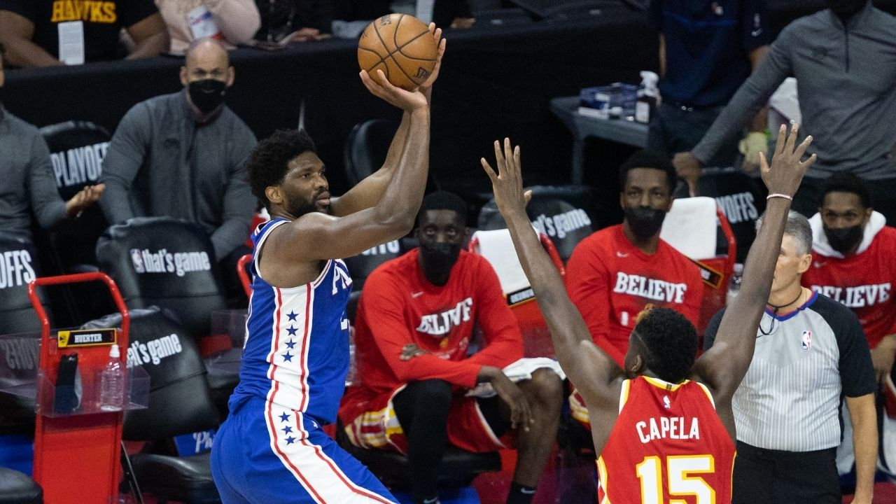 """""""Joel Embiid won't be a factor this series"""": NBA fans eviscerate Charles Barkley for his asinine take regarding Sixers vs Hawks ahead of Jojo's 40-point outing"""