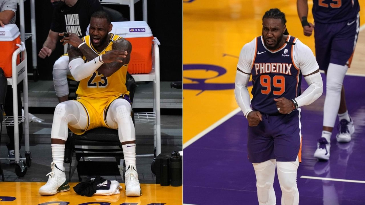 """""""Ain't no fun when the rabbit got the gun"""": Jae Crowder pwns LeBron James with Instagram post after Suns beat Lakers 4-2"""