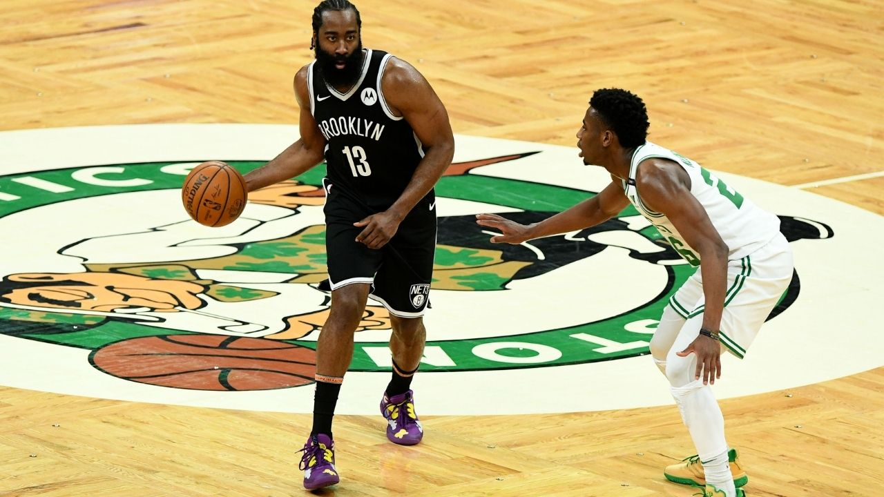 """""""Is James Harden a shooting guard or point guard?"""": NBA Fans react to Nets star's 18 assists record for a 2-guard ahead of Game 5 vs Celtics"""
