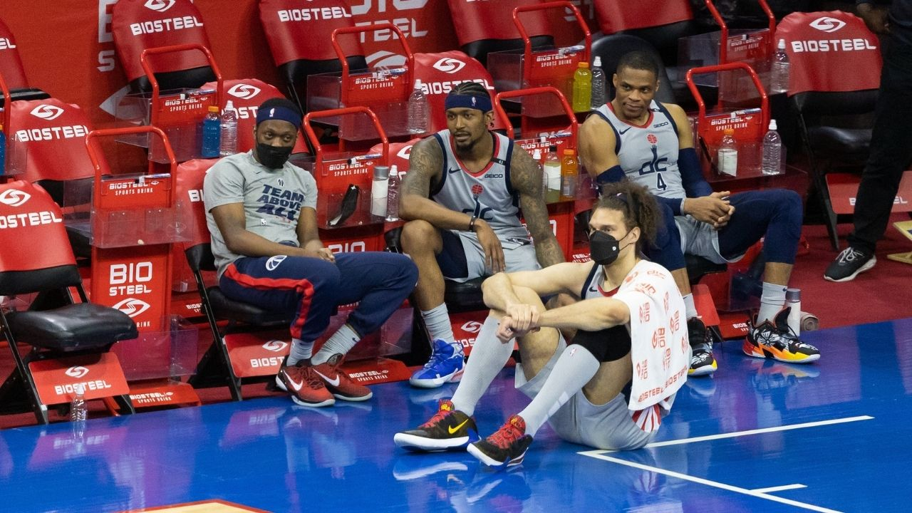 """""""Bradley Beal no longer knows where his future is"""": NBA insider claims Wizards All-Star will demand a trade away from Russell Westbrook and co"""