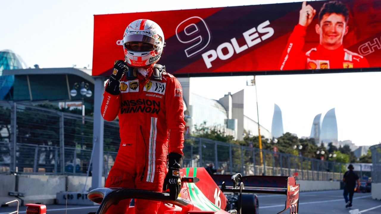 """""""It was quite a s*** lap I thought!"""" - Charles Leclerc secures Azerbaijan GP pole beating Lewis Hamilton and Max Verstappen"""