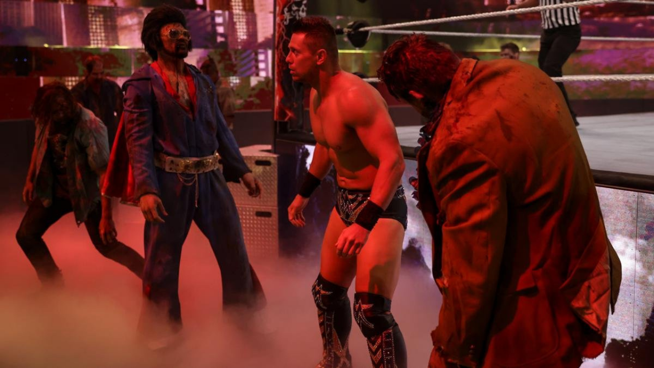 The Miz comments on his WrestleMania Backlash Zombie Match