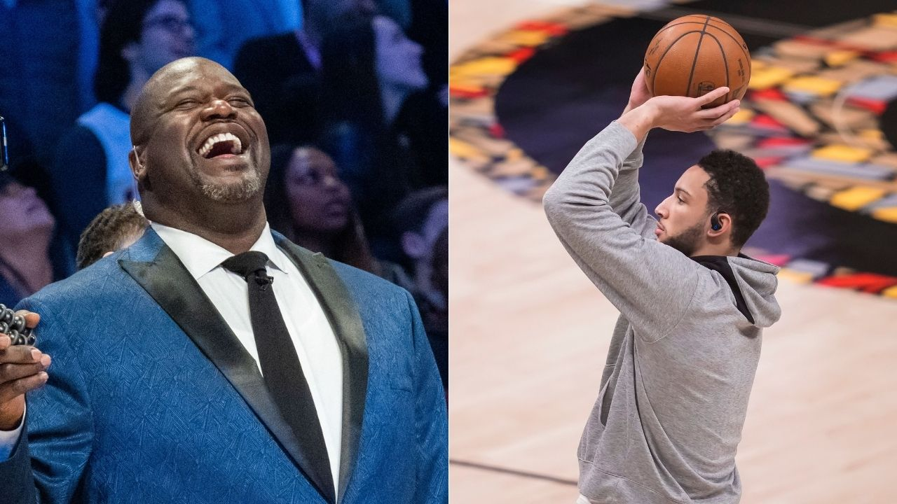 """""""Ben Simmons, you went to LSU - man up!"""": Shaquille O'Neal challenges Sixers star to show up for Game 7 and silence his doubters"""