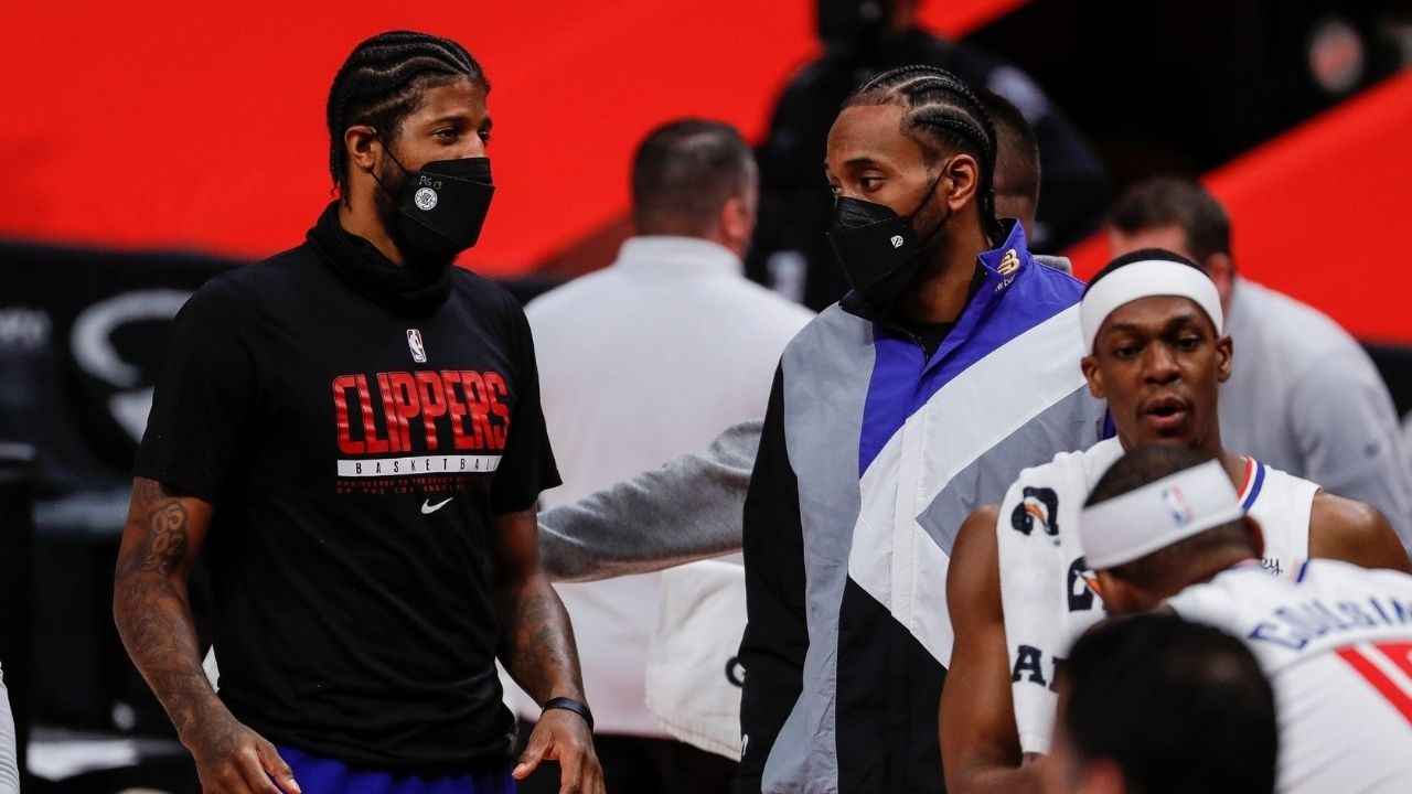 """""""If Kawhi Leonard isn't 100%, we don't want him to play"""": Clippers star Paul George reveals whether or not the Klaw can take on the floor in Game 5 vs Phoenix Suns"""
